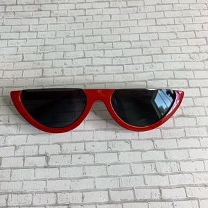 Accessories - 🚨 Red Rimless Top Sunglasses